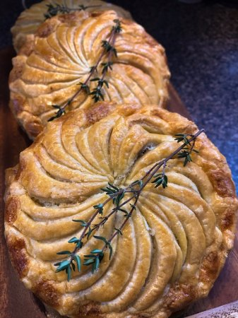 Creel Tackle House & Cafe: Mushroom Pies a favouriye