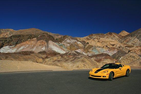 Artists Palette: Corvette at Artist's Point