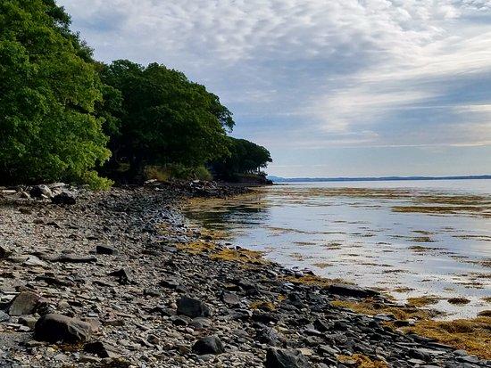 Belfast, Maine: On the beach