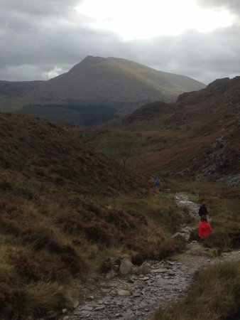 Hiking back to Capel Curig