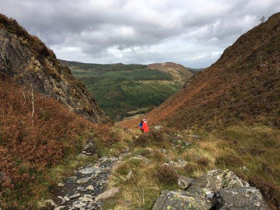 Capel Curig, UK: At the pass near Crimpiau