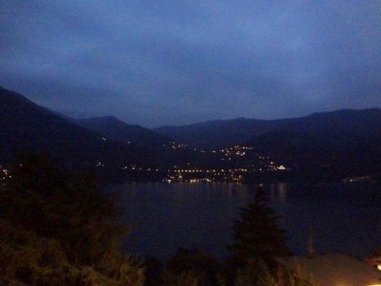 Лаглио, Италия: view of Lake Como from dining room