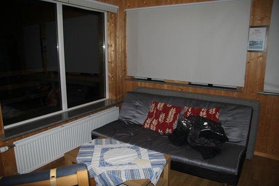 Hella, Islande : had large window with shades