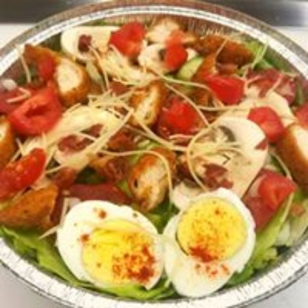 Wilton, ME: We offer a salad selection as well as wraps and appetizers.