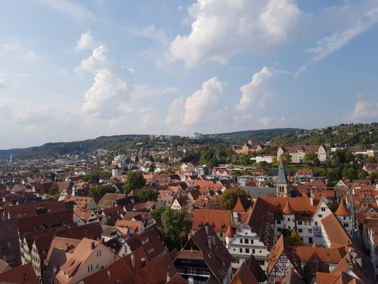 St. George's Collegiate Church, Tubingen: View from the top