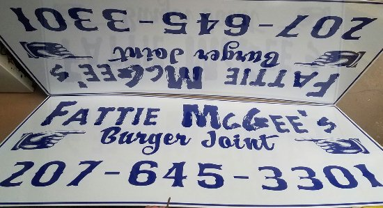 Fattie McGee's Wilton, Maine