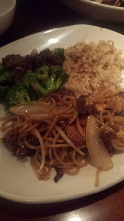 Maple Grove, MN: Chicken Lo Mein & Beef and Broccoli