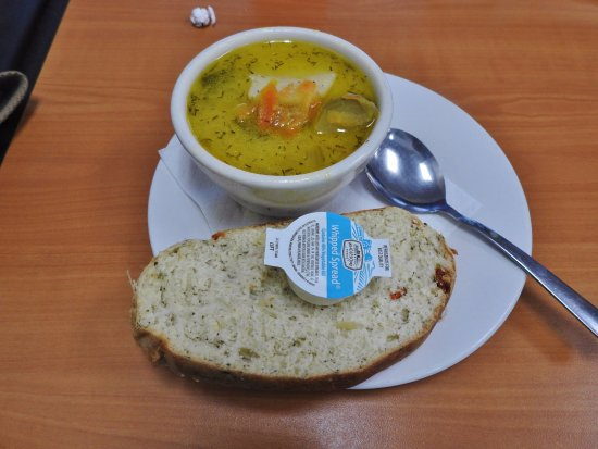 Comstock Park, MI: Dill Pickle Soup