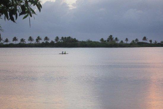 Fagamalo, Samoa: The view at sunrise