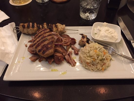 Sokrates: Mixed grilled meat
