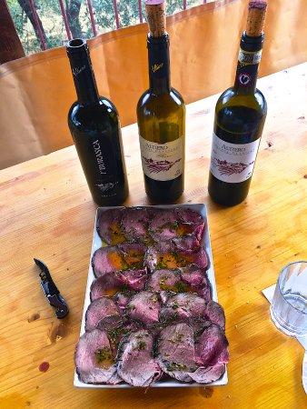 Castiglione del Lago, Italia: Wine tasting at Artiero winery in the heart of Chianti