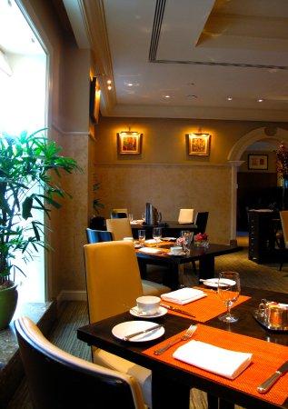 campton place main dining room set for breakfast picture of taj rh tripadvisor com