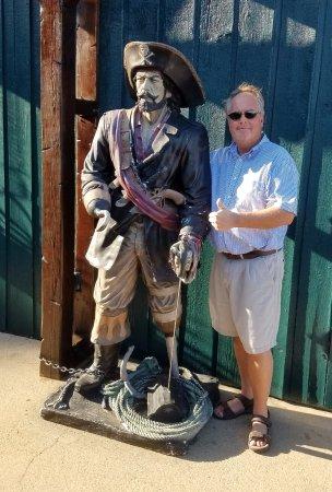 Pirate's Cove Adventure Golf: Two Pirates at Pirates' Cove