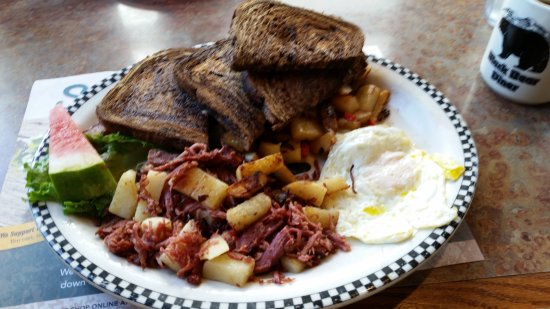 Black Bear Diner: Corned Beef Hash