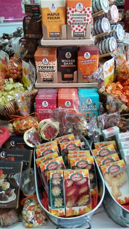Durham, Nueva Hampshire: Huge selection of brand name chocolates and sweets