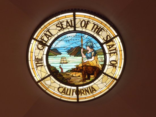 State Seal Picture Of California State Capitol Museum Sacramento