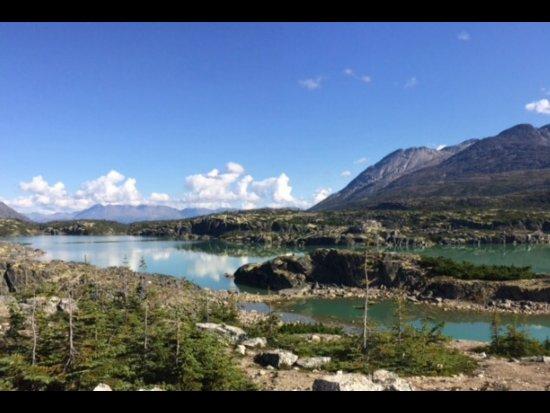 ไฮน์ส, อลาสกา: Reflection of mountain & clouds in a pristine lake