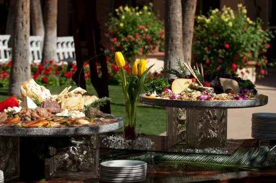 Tempe Mission Palms Hotel and Conference Center: tempe_meeting_buffet