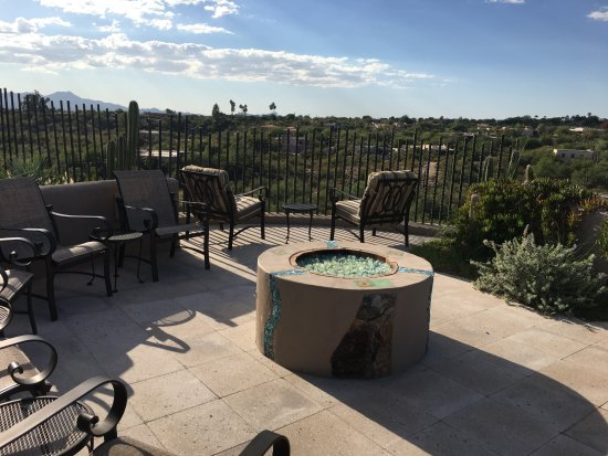 New To Triple Creek Ranch for 2012, 'Sacajawea' is at the ... |Dude Ranch Fire Pit