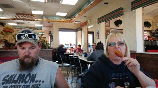 Midway, Utah: Good times at the wildfire smokehaus
