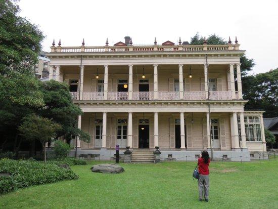 旧岩崎府邸庭园照片