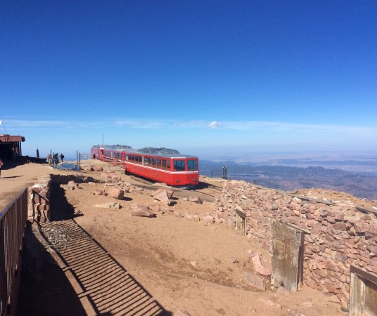 Manitou Springs, Colorado: Our ride at the Summit