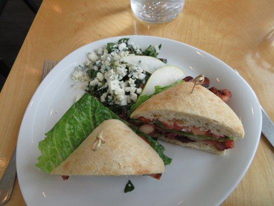 ปัลเมอร์, อลาสกา: Our lunch BLT sandwich