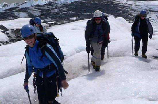 Caminata por el glaciar de Mendenhal