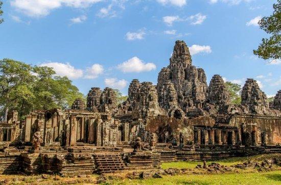 Templo de Beng Mealea e viagem de um...