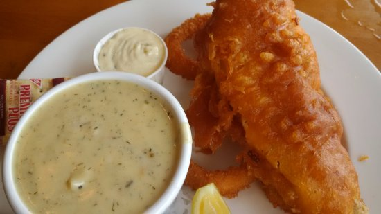 Cowichan Bay, Canada: Cod and seafood chowder
