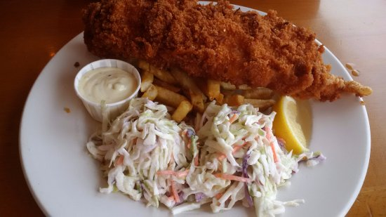 Cowichan Bay, Canada: Panko cod and chips
