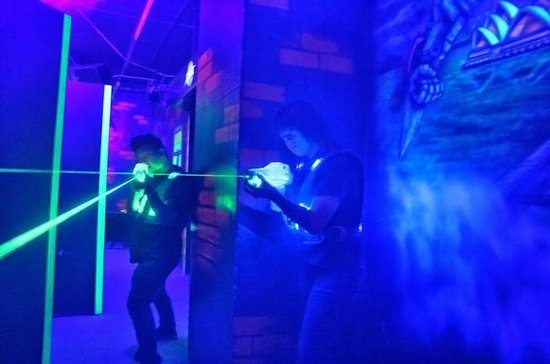 Amsterdam Laser Tag Battle