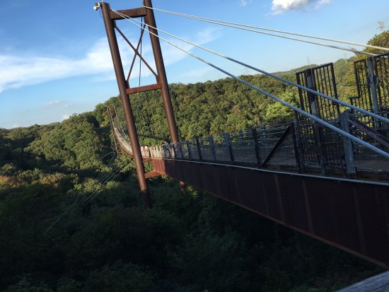 Katano, Japan: 吊り橋です。
