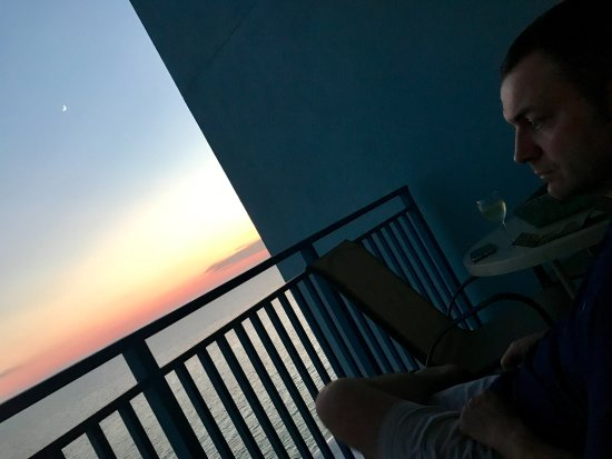 view from 12thfloor balcony @sterling breeze, Panama City Beach