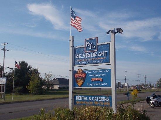 BJ's Restaurant, 990 N. Center Ave, Gaylord, MI.
