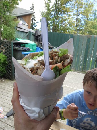 Hanmer Springs, New Zealand: Souvlaki - Large