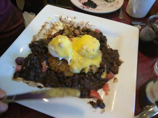 Longmont, CO: brunch special with black beans