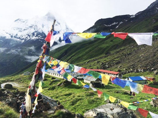Bagmati Zone, เนปาล: Picture From Annapurna Base Camp.