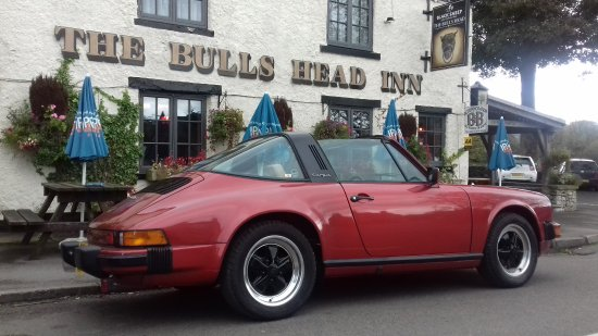 The Bull's Head Inn Foolow Restaurant: Dedicated Targa Parking...