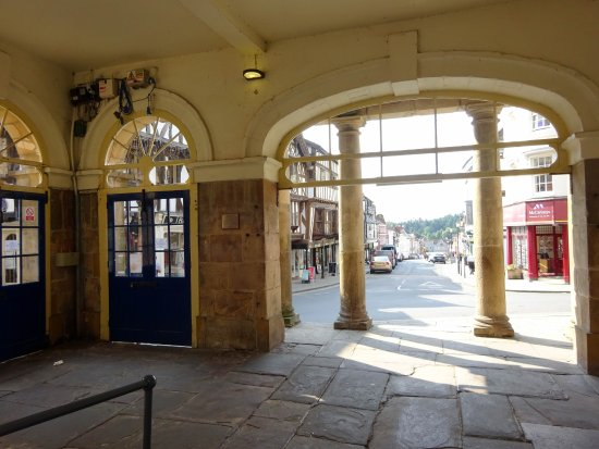 Entrance to the Ludlow Museum