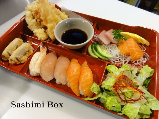 Wainwright, Kanada: Sashimi Box
