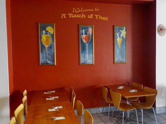A Touch of Thai Noodle Bar: Some of the seating