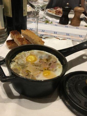 Oeuf cocote au foie gras
