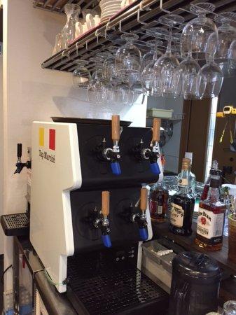 Adachi, Japonya: タップマルシェ導入店、4種の生クラフトビールが飲めます!