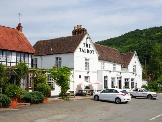 Knightwick, UK: The Talbot Inn was one of Elgar's favourites