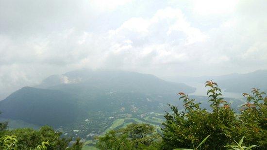 Japan: 仙石原方面を見下ろします