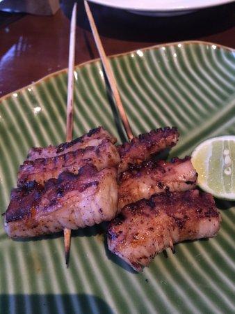 Sambal Shrimp: octopus leg grilled (2 pcs)