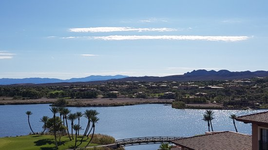The Westin Lake Las Vegas Resort & Spa: view from the room window