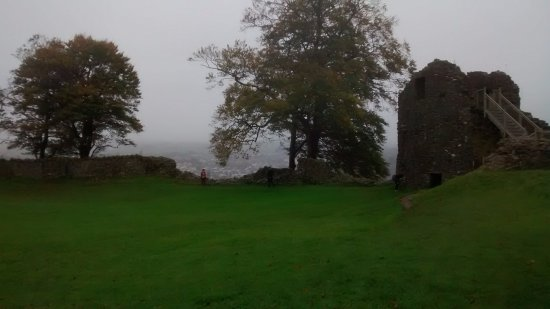 Kendal, UK: Inside castle