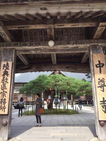 Chuson-ji Temple: 中尊寺
